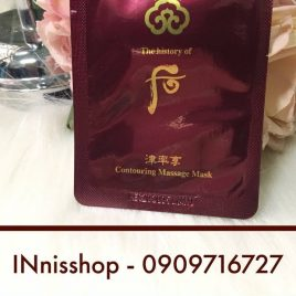 Mặt nạ massage Whoo Jinyulhyang Contouring Massage Mask 4ml