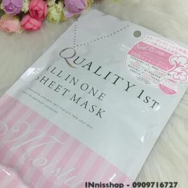 Mặt nạ giấy Quality 1st First All in one Sheet Mask của Nhật Bản