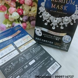 Mặt nạ  Quality1st   QUEEN'S PREMIUM MASK 5pc
