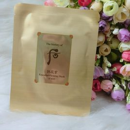 Whoo Gongjinhyang Essential Firming Mask 1pc
