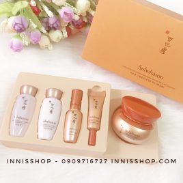 Bộ dưỡng phục hồi da Sulwhasoo Concentrated ginseng renewing special trial kit 5items limited