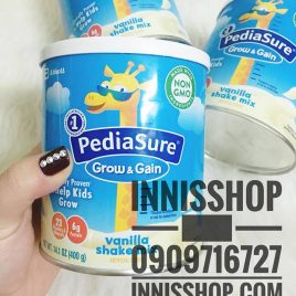 Sữa Pediasure Grow & Gain 400g [ NEW 2018 – VỊ VANI]