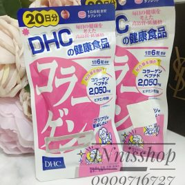 DHC Collagen 2050mg 20 ngày