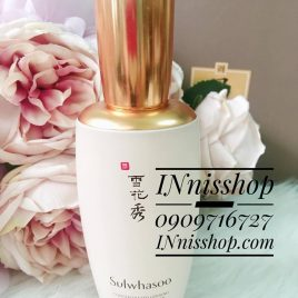 SULWHASOO CONCENTRATED GINSENG RENEWING EMULSION 125ml [ FULLSIZE TESTER VỎ HỘP TRẮNG NEW 100% ]