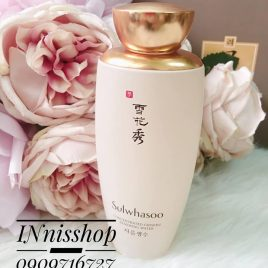 SULWHASOO CONCENTRATED GINSENG RENEWING WATER 125ml [ FULLSZIE TESTER VỎ HỘP TRẮNG NEW 100% ]
