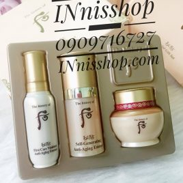 Whoo Bichup Special Gift Kit 3items [ NEW – đổi vỏ ]