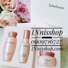 SULWHASOO BLOOMSTAY VITALIZING KIT 3items