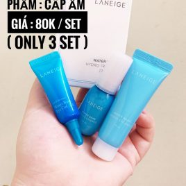LANEIGE WATER BANK HYDRO TRIAL 3ITEMS [ SAMPLE MINISIZE]