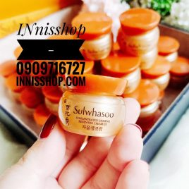 COMBO 5 HŨ SULWHASOO CONCENTRATED GINSENG RENEWING CREAM EX 5ML