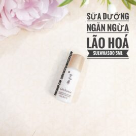 COMBO 10 CHAI Sữa Dưỡng chống lão hóa Sulwhasoo Concentrated Ginseng Renewing Emulsion 5ml